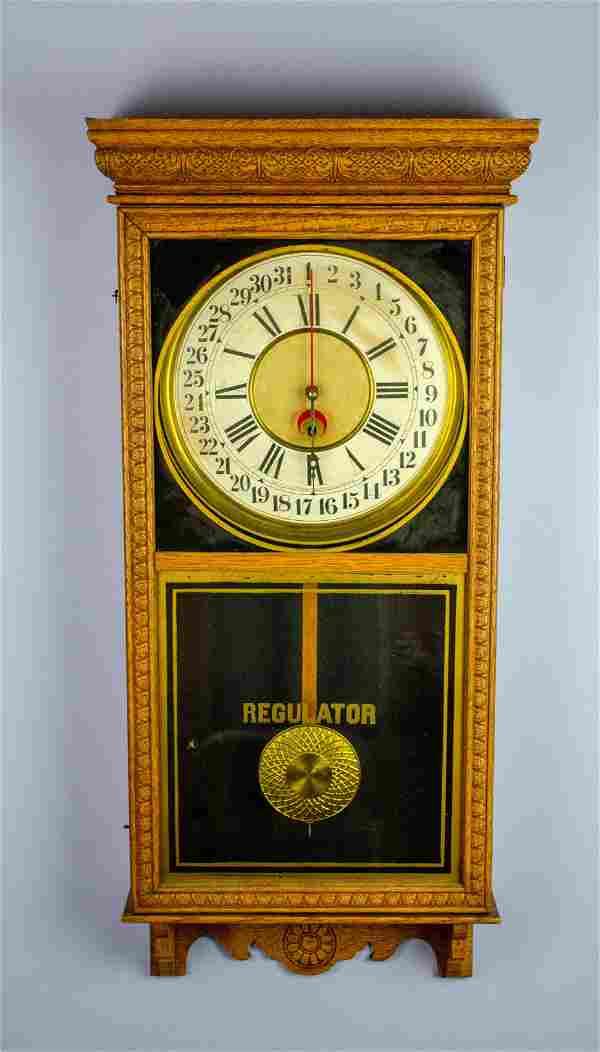 Sessions Store Regulator Wall Clock