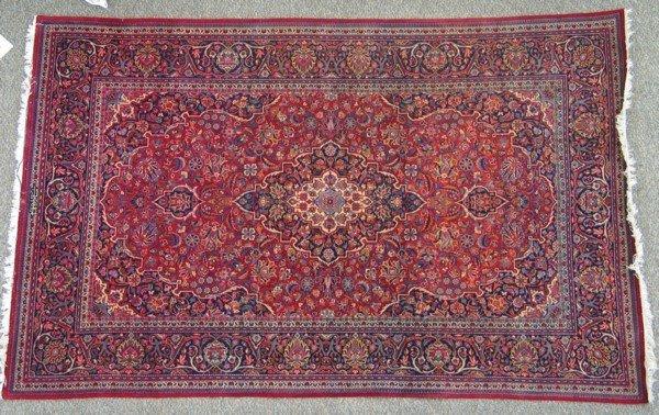 2: 4.4' x 7/1' Keshan carpet