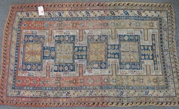 18: 4.6 x 6.11 flat woven Turkish rug