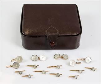14K Gold Vintage Cufflinks Sets