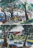Effie Rogers (2) Watercolors