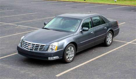 2011 Cadillac Sedan DTS Platinum