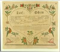 1788 Samuel Baumann Taufshein