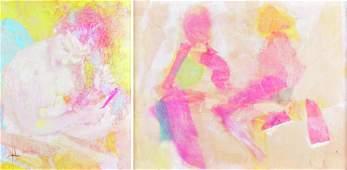 Edna Glaubman (2) Modern Paintings