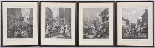 4 William Hogarth Four Times of the Day