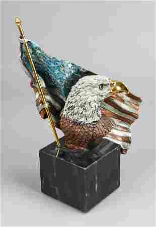 """Kitty Cantrell Bronze """"Symbols of Freedom"""""""