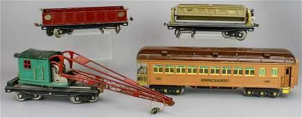 (4) Lionel Lines Train Cars