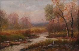 George D Falk Landscape Painting