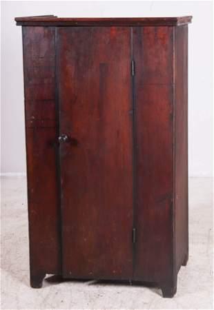 Poplar one door wall cupboard