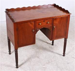 English Mahogany Regency Dressing Table
