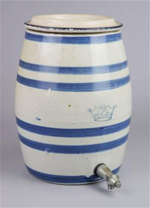 Kings Crown Stoneware Water Dispenser Crock