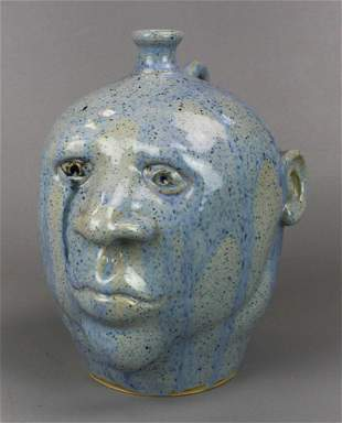 Randell Morgan Pottery Face Jug