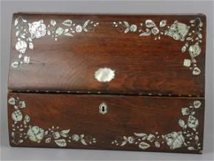 19th c. MOP Inlaid Lap Desk