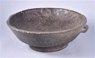 Rough Hewn Footed Bowl