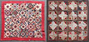(2) 19th C Pieced Quilts