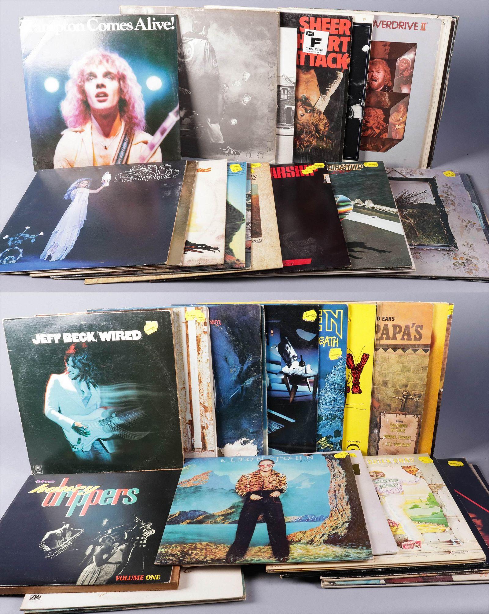 (47) 33-1/3 Vinyl LP Records