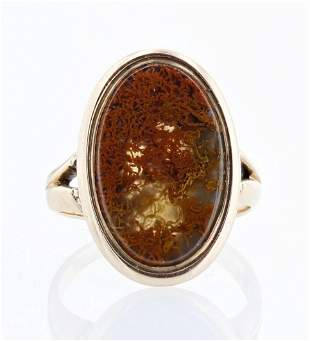 Jasper Agate Vintage Ring