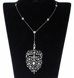 18th C. Georgian and French Diamond Necklace