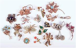 Vintage and Retro Pins and Brooches