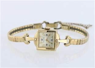 Ladies 14K Gold Longines Watch