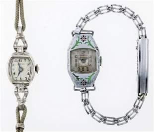 (2) Vintage Ladies Watches Longines, Windsor