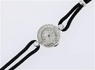 Vintage Ladies  LeCoultre Diamond Watch