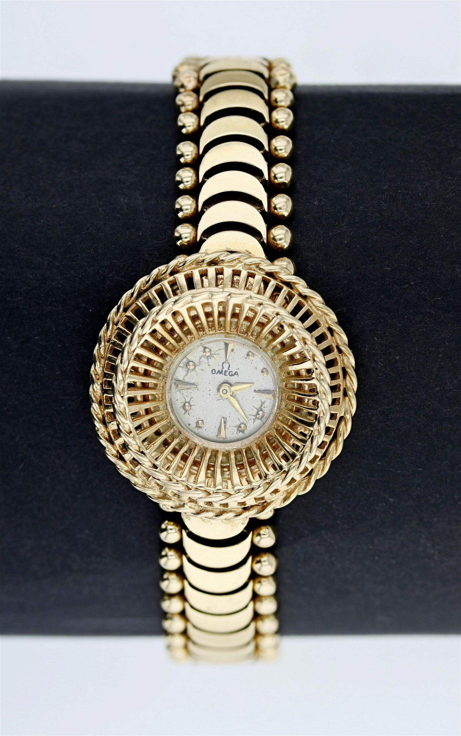 14K Retro Omega Gold Watch