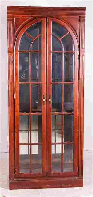 Stickley two door display cabinet