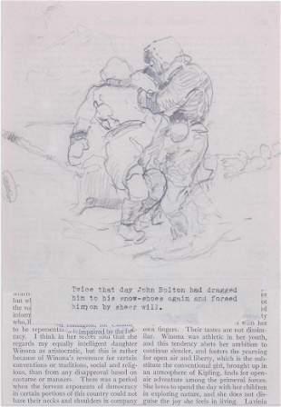 "Frank Schoonover Illustration ""John Bolton"""