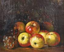 August Laux Still Life with Apples