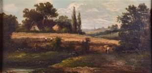 William Matthew Hale Landscape w/Figures