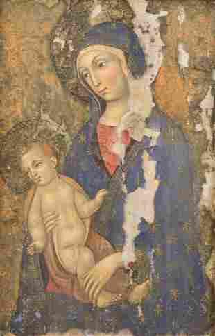 Madonna & Child Icon