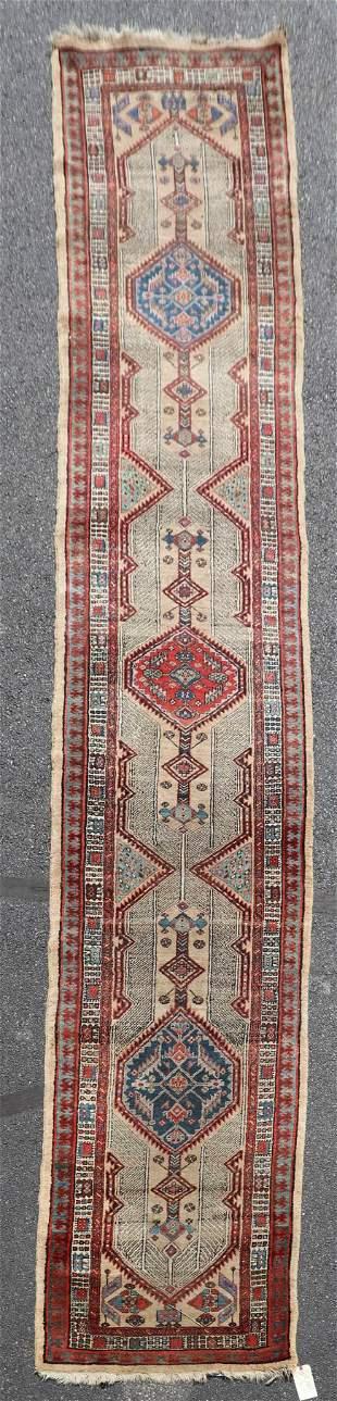 "3' X 18'5"" Persian Serab Camel Hair Runner"