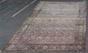 """14'8"""" X 24'5"""" Persian Carpet, Overall Floral Design"""