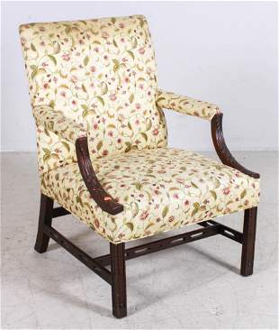 Chinese Chippendale Style Lolling Chair
