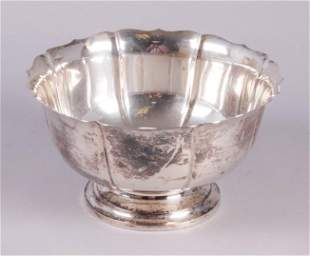 Sterling Silver Monteith Bowl, Worden-Munnis Co.