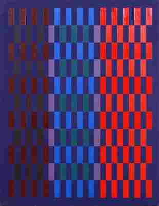 "John Formicola Geometric Abstract ""Meditation"""