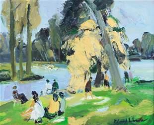 """Roland Lefranc """"Au Bois de Boulogne"""""""
