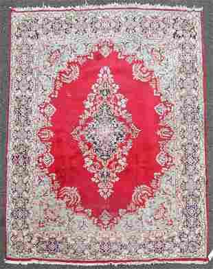 "10'3"" X 13'7"" Semi Antique Persian Kirman Rug"