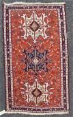 """3'10"""" X 6'5"""" Antique Caucasian Soumak Rug"""