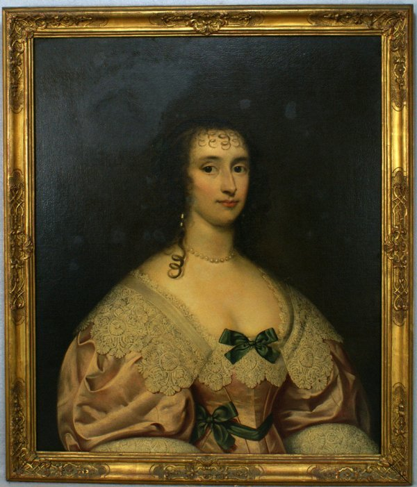 313: European School, 18th/19th century, o/c, Portrait