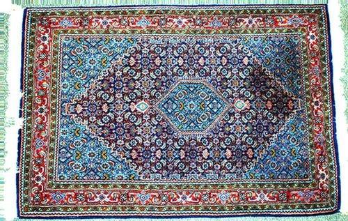 9: 3.0 x 5.0 Indo-Persian prayer rug