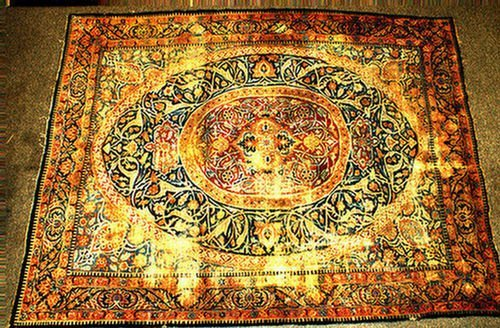14: 9.0 x 11.10 Semi antique Persian rug, considerable
