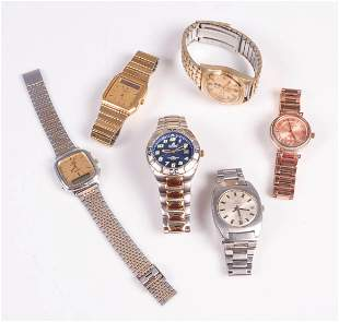 (6) Pc Watch Lot