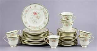 (42) Minton 'Jasmine' Dinnerware