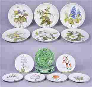 (18) Pottery and Porcelain Plates