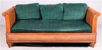 Drexel Heritage Plantation woven rattan sofa