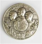 Medallic Art Co Fine 999 Silver Apollo XVII Medal