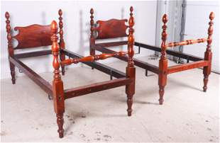 Pair twin beds