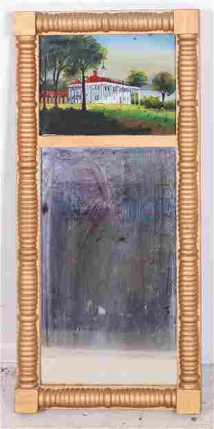 Gilt Federal wall mirror